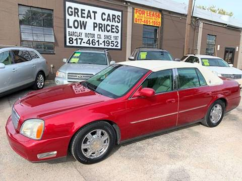 2004 Cadillac DeVille for sale in Arlington, TX