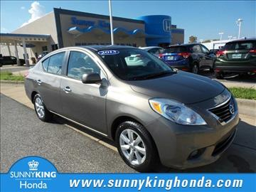 2013 Nissan Versa for sale in Anniston, AL