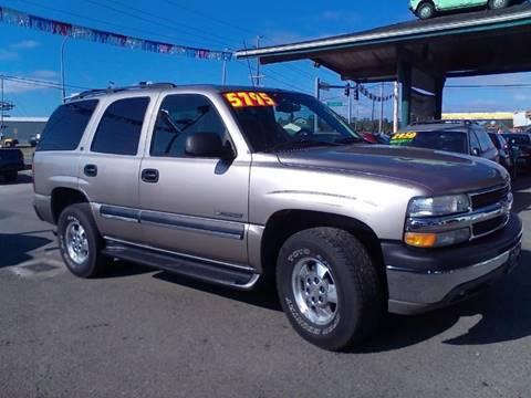 2002 Chevrolet Tahoe for sale in Sedro Woolley, WA