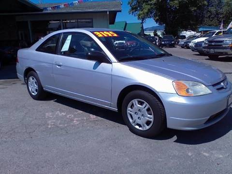 2002 Honda Civic for sale in Sedro Woolley, WA