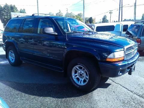 2003 Dodge Durango for sale in Sedro Woolley, WA