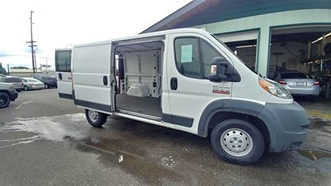 2015 RAM ProMaster Cargo for sale in Sedro Woolley, WA