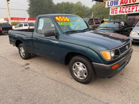 1996 Toyota Tacoma for sale at Low Auto Sales in Sedro Woolley WA