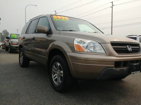 2004 Honda Pilot for sale at Low Auto Sales in Sedro Woolley WA