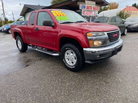 2006 GMC Canyon for sale at Low Auto Sales in Sedro Woolley WA