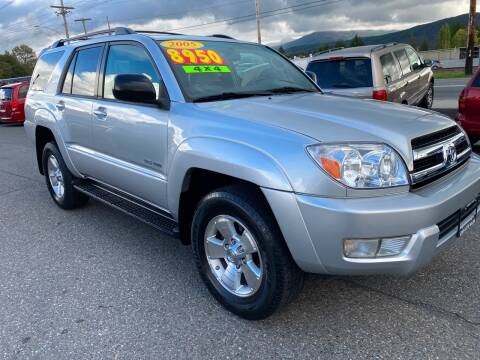 2005 Toyota 4Runner for sale at Low Auto Sales in Sedro Woolley WA
