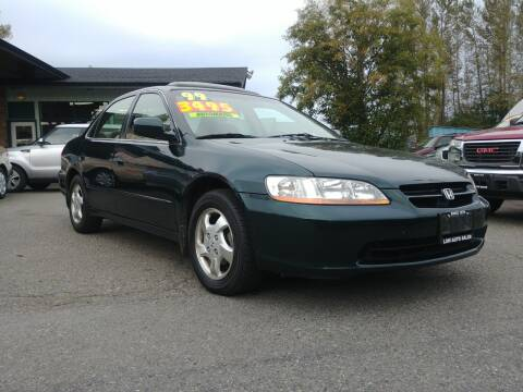 1999 Honda Accord for sale at Low Auto Sales in Sedro Woolley WA