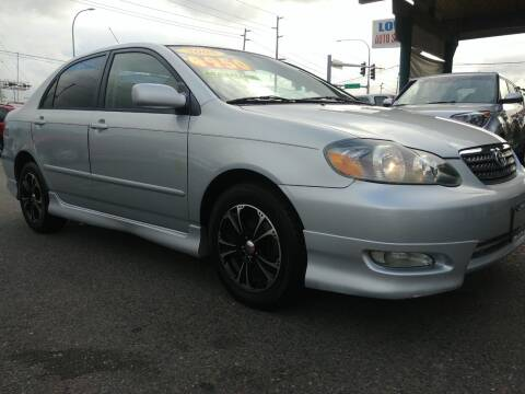 2005 Toyota Corolla for sale at Low Auto Sales in Sedro Woolley WA