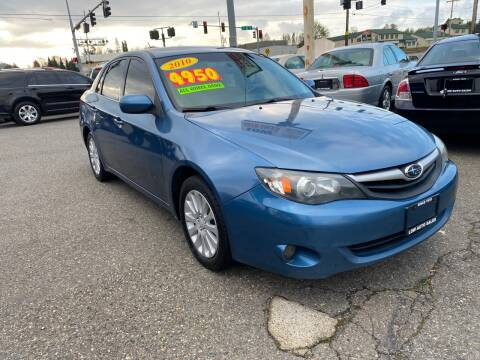 2010 Subaru Impreza for sale at Low Auto Sales in Sedro Woolley WA