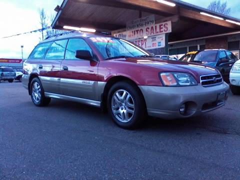 2002 Subaru Outback for sale in Sedro Woolley, WA