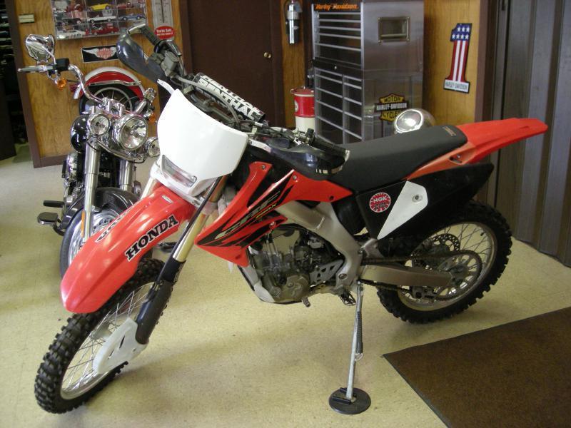 2004 Honda CRF250X  - Clarksburg WV