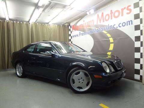 2001 Mercedes-Benz CLK for sale at Premium Motors in Villa Park IL