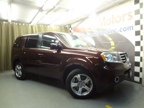 2014 Honda Pilot for sale at Premium Motors in Villa Park IL