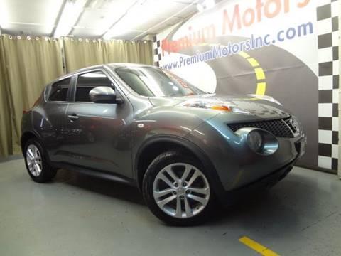 2011 Nissan JUKE for sale at Premium Motors in Villa Park IL
