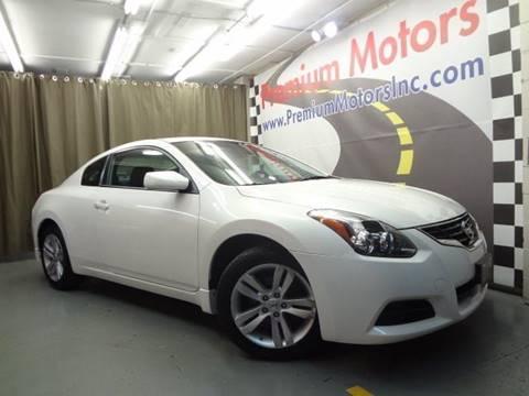2011 Nissan Altima for sale at Premium Motors in Villa Park IL