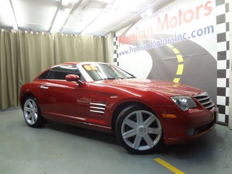 2008 Chrysler Crossfire for sale at Premium Motors in Villa Park IL