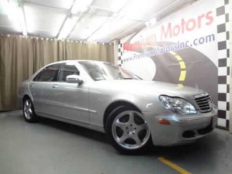 2004 Mercedes-Benz S-Class for sale at Premium Motors in Villa Park IL