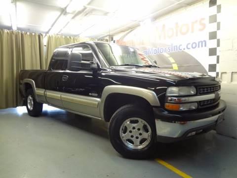 2002 Chevrolet Silverado 1500 for sale at Premium Motors in Villa Park IL