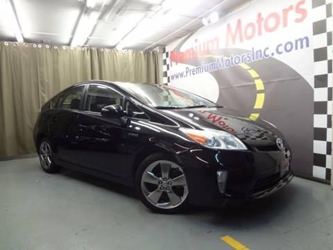 2013 Toyota Prius for sale at Premium Motors in Villa Park IL