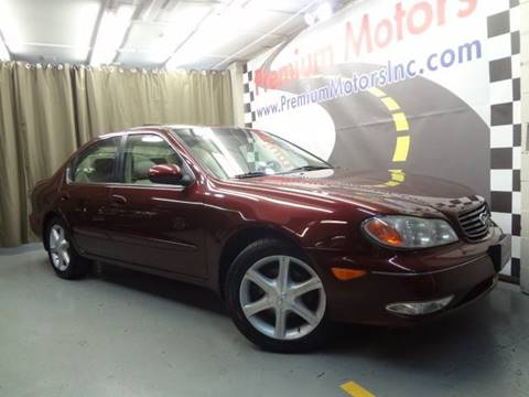 2002 Infiniti I35 for sale at Premium Motors in Villa Park IL