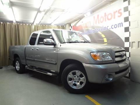 2005 Toyota Tundra for sale at Premium Motors in Villa Park IL