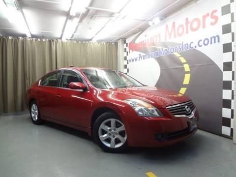 2009 Nissan Altima for sale at Premium Motors in Villa Park IL