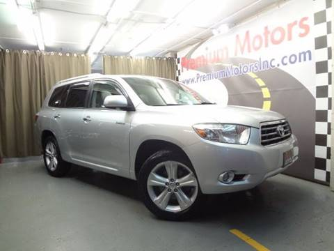 2010 Toyota Highlander for sale at Premium Motors in Villa Park IL