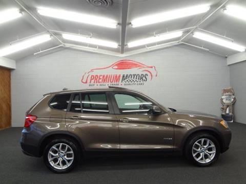 2013 BMW X3 for sale at Premium Motors in Villa Park IL