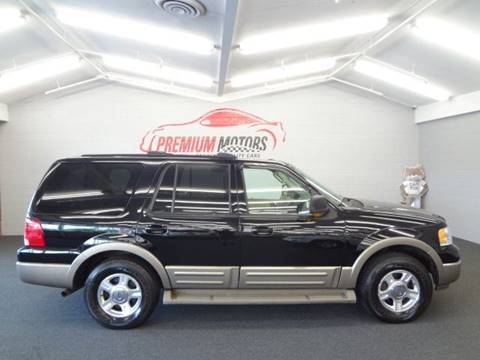 2004 Ford Expedition for sale at Premium Motors in Villa Park IL