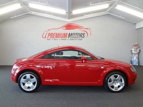 2001 Audi TT for sale at Premium Motors in Villa Park IL
