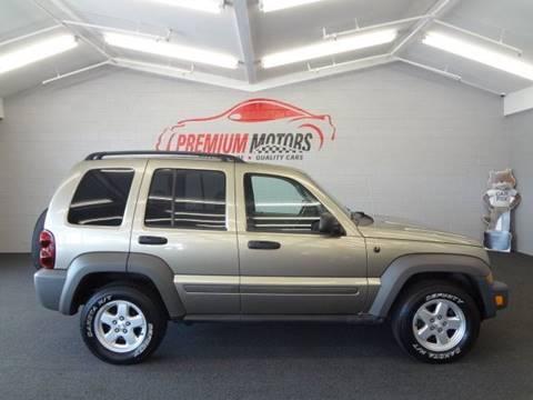 2006 Jeep Liberty for sale at Premium Motors in Villa Park IL