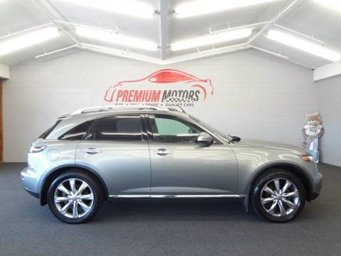 2008 Infiniti FX35 for sale at Premium Motors in Villa Park IL