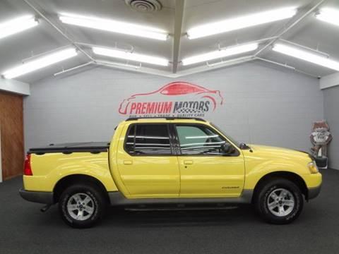 2002 Ford Explorer Sport Trac for sale at Premium Motors in Villa Park IL