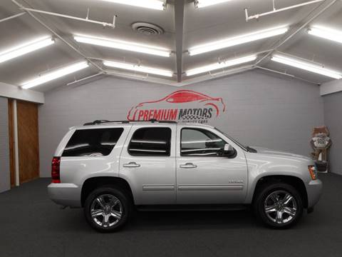 2013 Chevrolet Tahoe for sale at Premium Motors in Villa Park IL