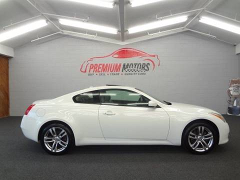 2009 Infiniti G37 Coupe for sale at Premium Motors in Villa Park IL
