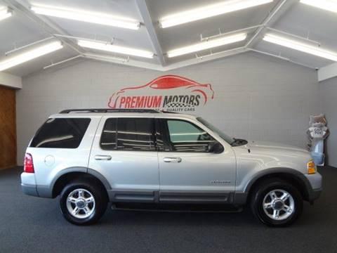 2002 Ford Explorer for sale at Premium Motors in Villa Park IL