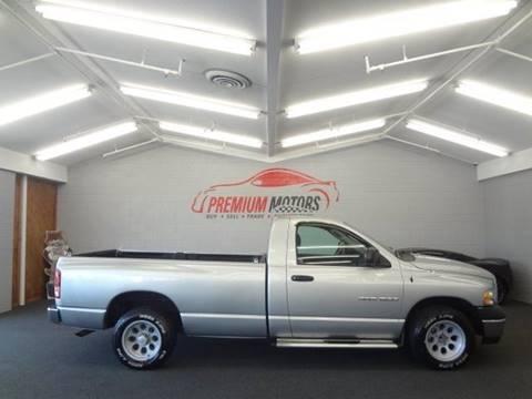 2005 Dodge Ram Pickup 1500 for sale at Premium Motors in Villa Park IL