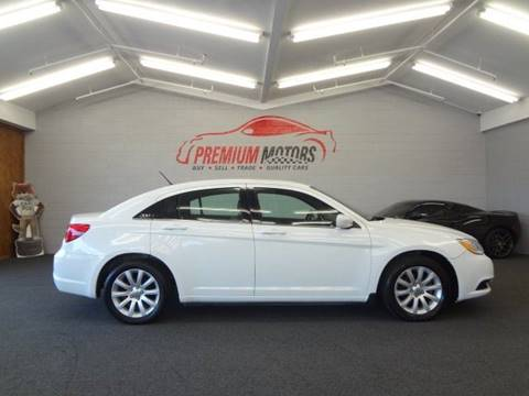 2011 Chrysler 200 for sale at Premium Motors in Villa Park IL