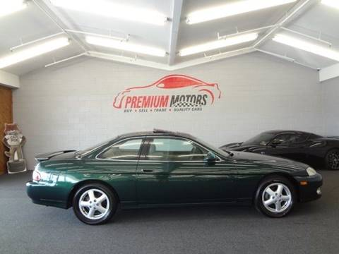 1998 Lexus SC 300 for sale at Premium Motors in Villa Park IL
