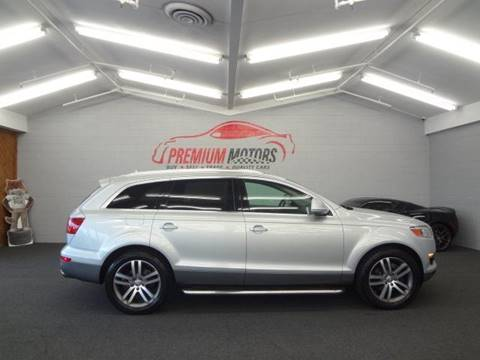 2009 Audi Q7 for sale at Premium Motors in Villa Park IL