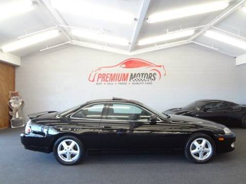 2000 Lexus SC 400 for sale at Premium Motors in Villa Park IL