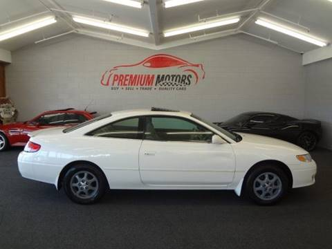 2001 Toyota Camry Solara for sale at Premium Motors in Villa Park IL
