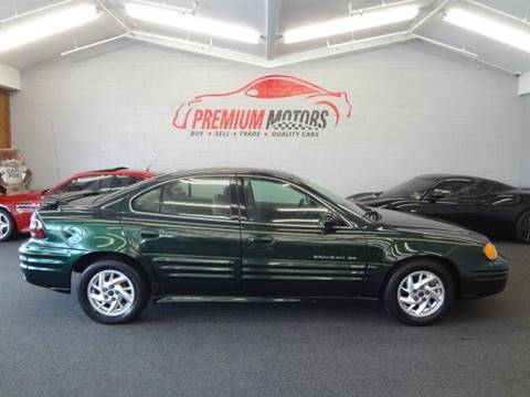 2002 Pontiac Grand Am for sale at Premium Motors in Villa Park IL