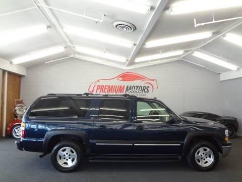 2005 Chevrolet Suburban for sale at Premium Motors in Villa Park IL