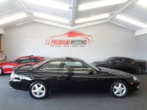 1997 Lexus SC 400 for sale at Premium Motors in Villa Park IL