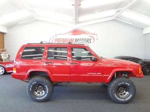 1998 Jeep Cherokee for sale at Premium Motors in Villa Park IL