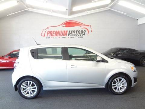 2013 Chevrolet Sonic for sale at Premium Motors in Villa Park IL
