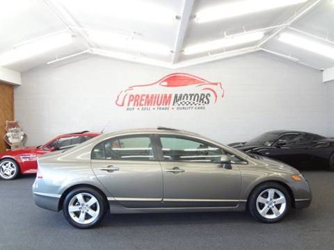 2006 Honda Civic for sale at Premium Motors in Villa Park IL