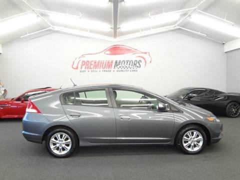 2011 Honda Insight for sale at Premium Motors in Villa Park IL