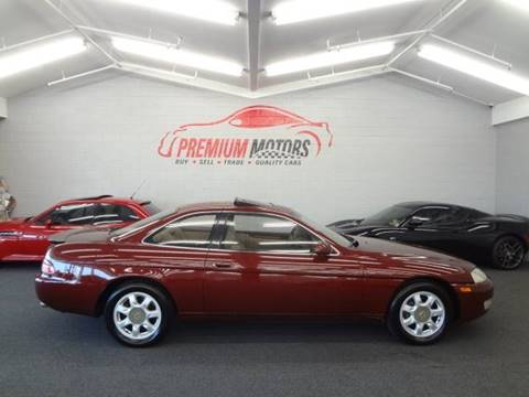 1996 Lexus SC 400 for sale at Premium Motors in Villa Park IL